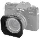 Impulsfoto LH-JXF16F28 Sonnenblende Gegenlichtblende, Kompatibel für Fujifilm Fujinon XF 16mm F2.8 R WR Objektiv