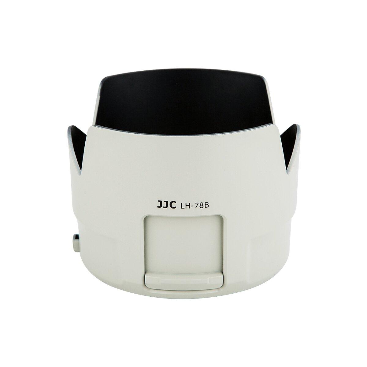 JJC LH-78B Sonnenblende Gegenlichtblende, Kompatibel mit Canon EF 70-200mm f/4L IS II USM Objektiv