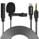 BOYA Lightning lapel mic for iPhone - BY-M2