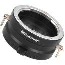 Micnova Innovative 2-Fach Objektivhalterung Objektivgurt aus Metall fuer Objektive mit Canon EF/EF-S Bajonett