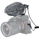 JJC SGM-V1 Nierenmikrofon Shotgun-Videomikrofon Kondensatormikrofon |  Für DSLR-Kameras, Camcorder, Smartphones, Tablets, Recorder usw. | Klare Tonaufnahme | Kompakt und Robust