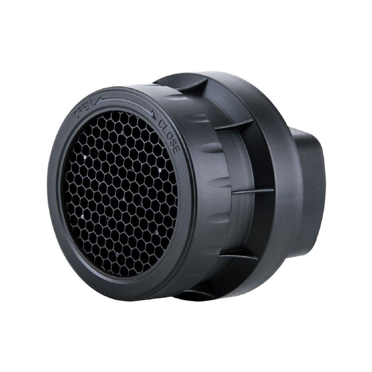 Impulsfoto JJC SG-L 3-in-1 Aufsteck-Wabe (Wabenvorsatz, Wabenaufsatz) für Aufsteckblitz bis 49 x 76 mm - z.B. kompatibel für Canon Speedlite 540EX 550EX, Nissin DI 622, Pentax AF-540 FGZ HVL-F58AM