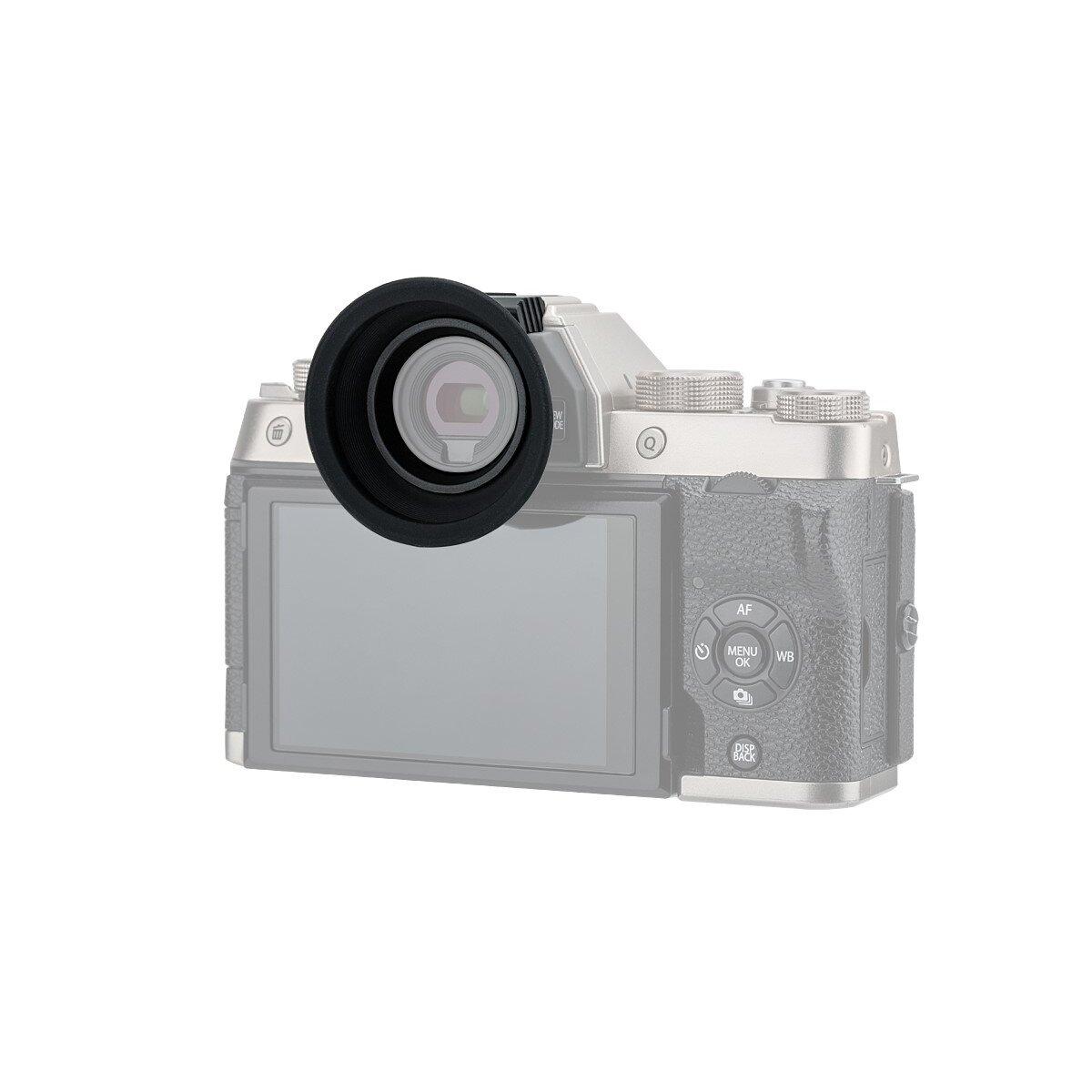 Impulsfoto KIWIFOTOS kompatibel für Fujifilm X-T100 Kamera-Augenmuschel | Weiches Silikon | Augenkomfort | Einfache Montage