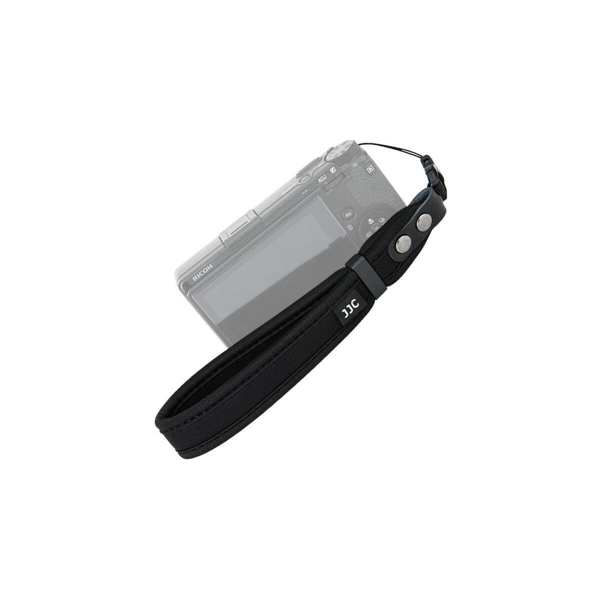 Impulsfoto JJC ST-CP1 Kamera Handschlaufe | Für DSLR- und Kompakt-Kameras | Hochwertiges Neopren | Sicherer Griff | Schnellverschluss | Belastbares ABS-Material