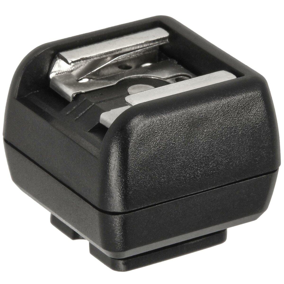 Impulsfoto JJC Hot Shoe Flash-Adapter mit PC-Synchronisationsbuchse | Für tragbare Blitzgeräte an DSLRs | Standard ISO-518-Blitzschuh-Adapter - Standard ISO-518-Fuß - PC-Sync | JSC-2