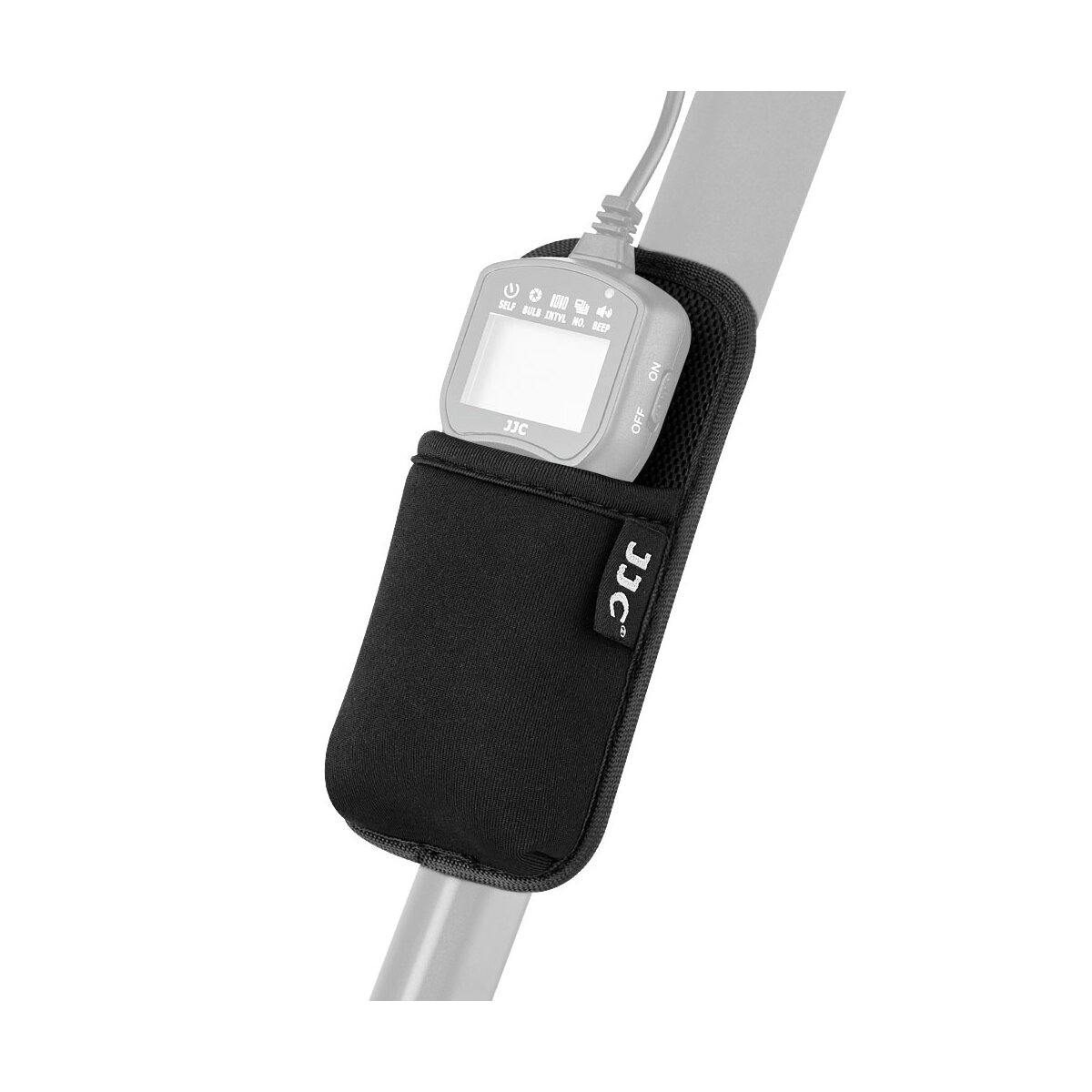 Impulsfoto JJC RCH-TM Fernbedienungshalter Aufbewahrungstasche für JJC TM Serie, WT-868, MT-636, Fernbedienungen (auch für SMDV Timer passend) | Hochwertiges Material