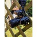 2x Minadax Objektiv Schutz Kappe aus Silicon 51mm x 62mm - Universal Dehnbar Wasserdicht, Stoßabsorbierend, Staubdicht, Kratzfest, für fast alle Objektive / Macro-Zwischenringe geeignet - MX-ZY-007