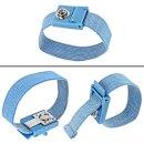 Minadax 60 x 120cm Antistatik-Portabel Set + Tasche ESD Antistatikmatte in Blau, Handgelenksschlaufe und Erdungskabel - Für ein sicheres Arbeiten und Schutz Ihrer Bauteile vor Entladungsschäden