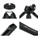"Impulsfoto JJC Mini Tripod-Stativ   Für Kompaktkameras Kameras DSLRs LED-Lampen Miniprojektoren und Andere Geräte 1/4""-20 Stativanschluss   360° einstellbarer Winkel    Modell: TP-MT1 SILVER"