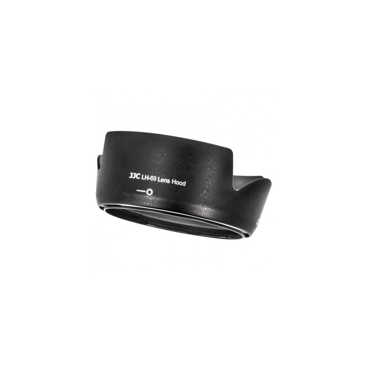 JJC LH-69 Gegenlichtblende kompatibel mit Nikon Nikkor AF-S DX 18-55mm f/3.5-5.6 G VRII, Ersatz für Nikon HB-69