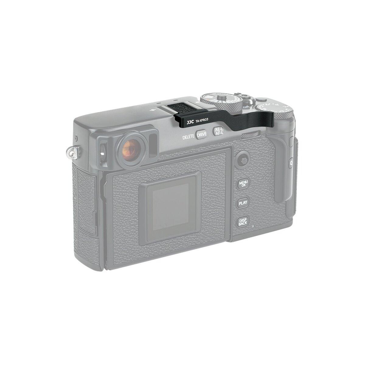 Impulsfoto Thumbs Up Grip   Kompatibel mit Fujifilm X-Pro3, X-Pro2 und X-Pro1   Hoher Komfort und Sicherer Halt   Leicht Zu Installieren   Keine Beeinträchtigung von Bedienelementen TA-XPRO3