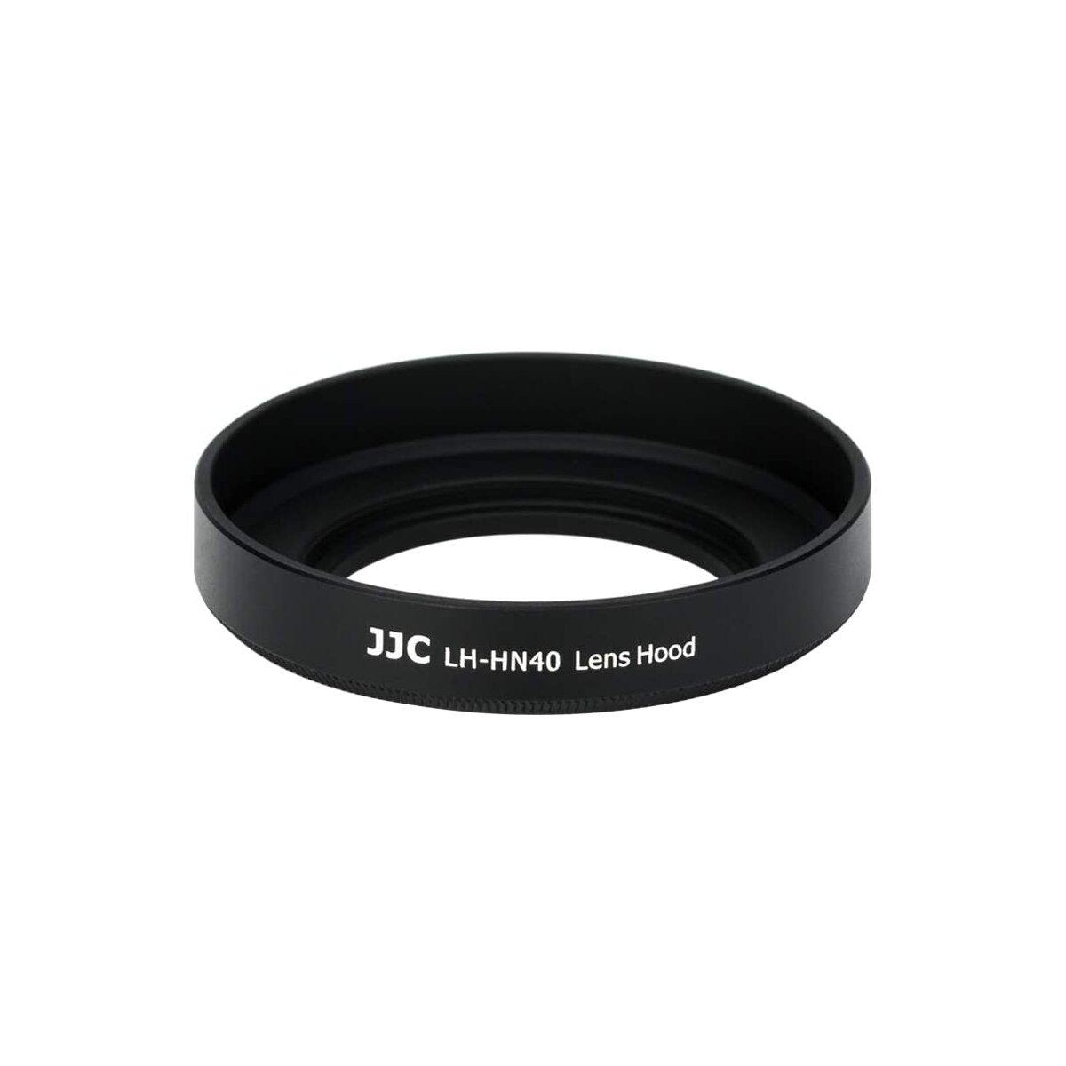JJC LH-HN40 Gegenlichtblende aus Metall kompatibel für Nikon NIKKOR Z DX 16-50mm f/3.5-6.3 VR Objektiv Ersatz für Nikon HN-40