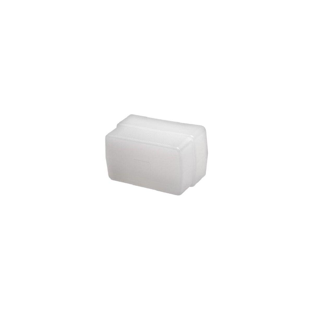 Minadax Diffusor, Weichmacher, Bouncer, Softbox kompatibel mit Metz mecablitz 58 AF-1 digital, Metz mecablitz 48 AF-1 digital