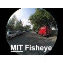 0.25x Fisheye Objektiv kompatibel für Fujifilm FinePix S20 Pro, S7000, S602 Zoom, 6900 Zoom, 4900 Zoom in silber 55mm