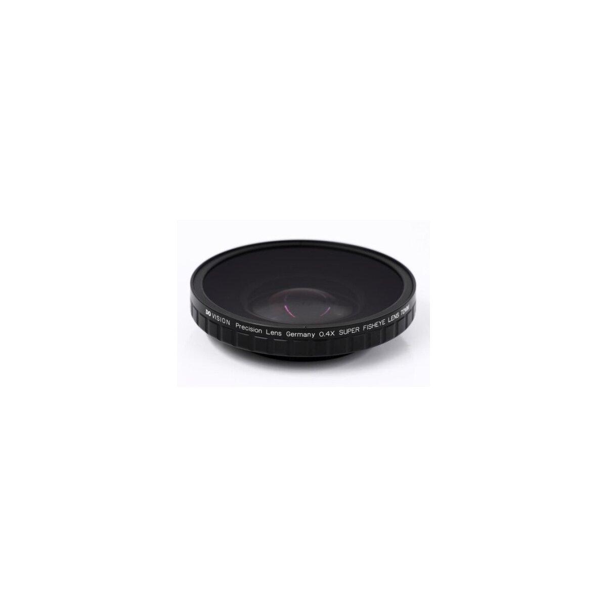 0.4x HD Fisheye Adapter kompatibel mit Panasonic AG-DVX100, AG-DVX100A, AG-DVX100B