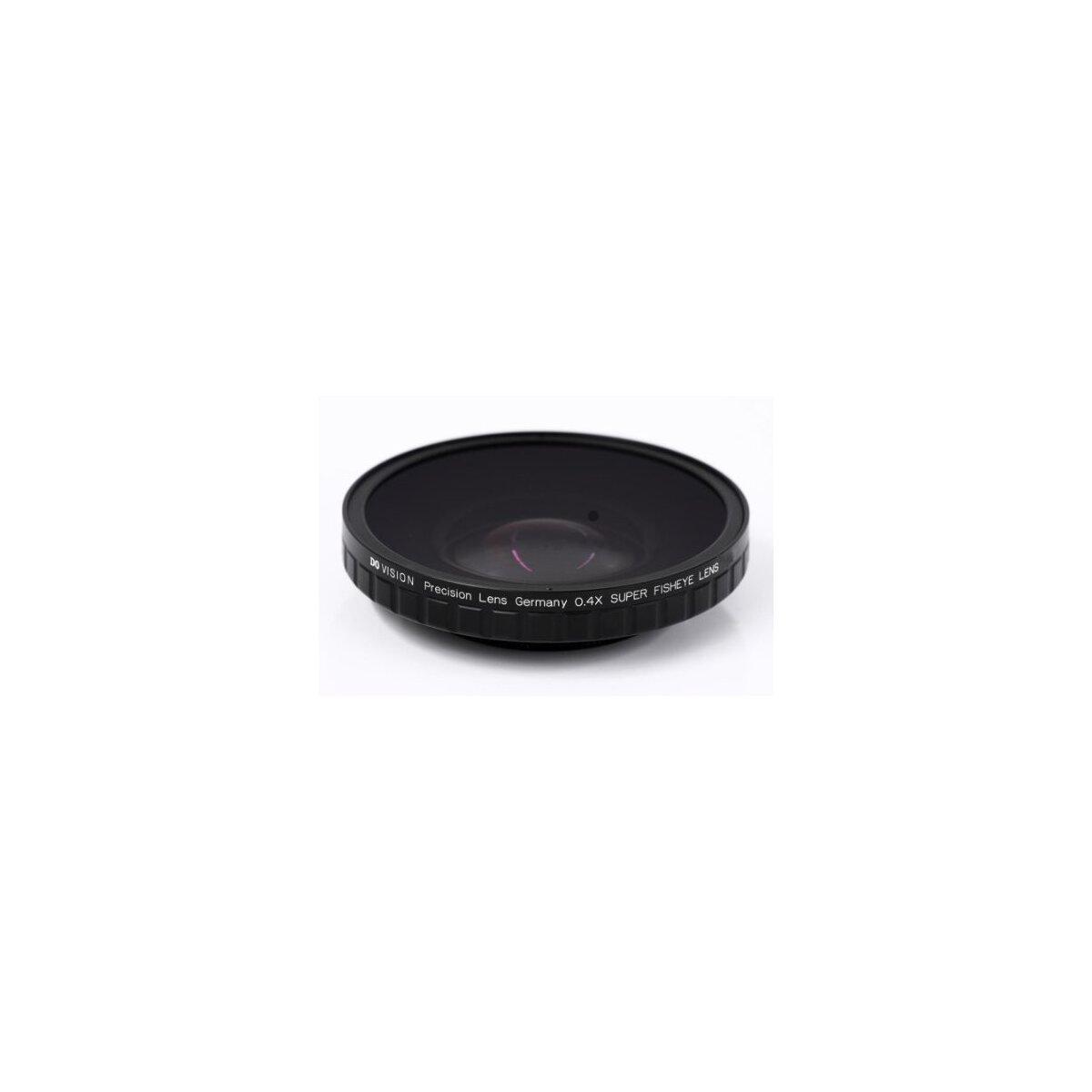 0.4x HD Fisheye Adapter mit 62mm Gewinde kompatibel für Sony HDR-FX7, HVR-V1