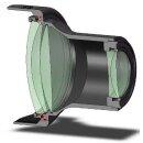 1.7x Minadax Tele Vorsatz kompatibel für Sony DCR- / HC1000, SR190, SR290, DVD406, DVD506, PC120, PC330, TRV60, TRV80, TRV145, TRV228, TRV238, TRV245, TRV250, TRV255, TRV265, TRV270