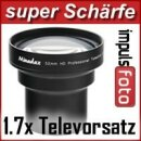 1.7x Minadax Tele Vorsatz 49mm