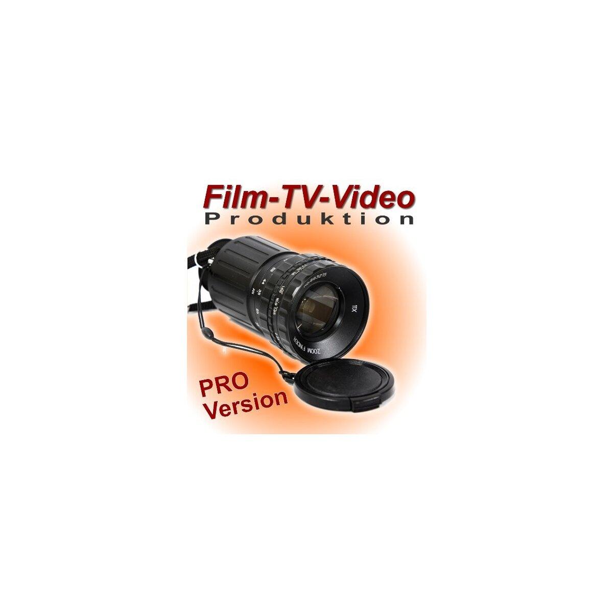 Pro Version Zoomfinder Motivsucher für Regie & Foto - Directors Viewfinder für Film- TV - und Videoproduktion