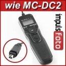 Programmierbarer Minadax LCD Timer Auslöser N3 kompatibel mit Nikon DF, D7100, D7000, D5500, D5300, D5200, D5100, D5000, D3300, D3200, D3100, D750, D610, D600 und D90 - Ersatz für MC-DC2