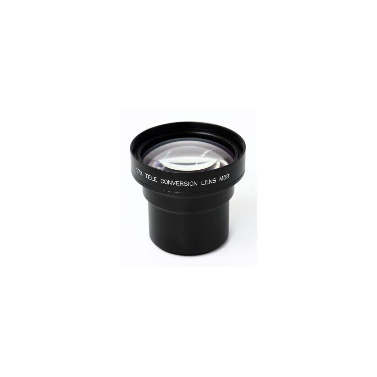 1.7x Hochleistungs Tele Objektiv Vorsatz kompatibel mit Canon Powershot G10, G11 58mm inkl. Adapter ( Sonnenblende Optional LTH-82 )