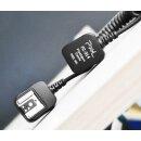 Qualitäts TTL Blitzkabel 3,6m kompatibel mit Panasonic DMW-FL-360, DMW-FL500, DMW-FL220 Ersatz für FL-CB05