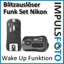 PIXEL Qualitäts Funk-Blitzauslöserset kompatibel mit Nikon SB-910, SB-900, SB-800, SB-600, SB-400, D7100, D7000, D5200, D5100, D5000, D3200, D3100, D3000, D800, D700, D600, D300(s), D200, D90, D80, D70(s), D1/D2/D3-Serie, N90s, F5, F6, F100, F90, F90X