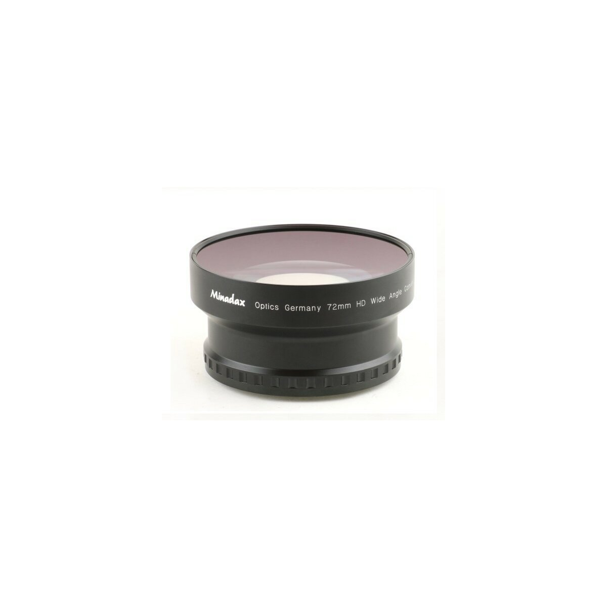 0.7x Minadax HD Weitwinkel Objektiv Vorsatz kompatibel mit Sony HDR-FX1, HDR-FX1000, HVR-S270, HVR-Z1, HVR-Z5, HVR-Z7 (Voll durchzoombar)