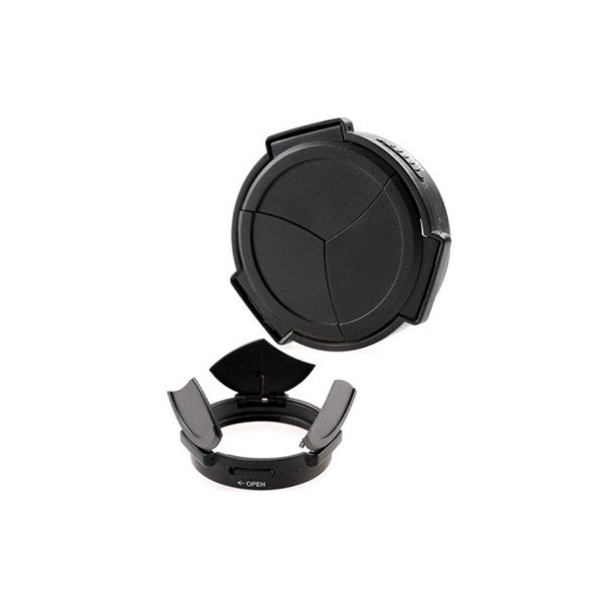 Automatik Objektivdeckel - Frontdeckel - Schutzdeckel - Sonnenblende für Fujifilm X100 ALC-X100