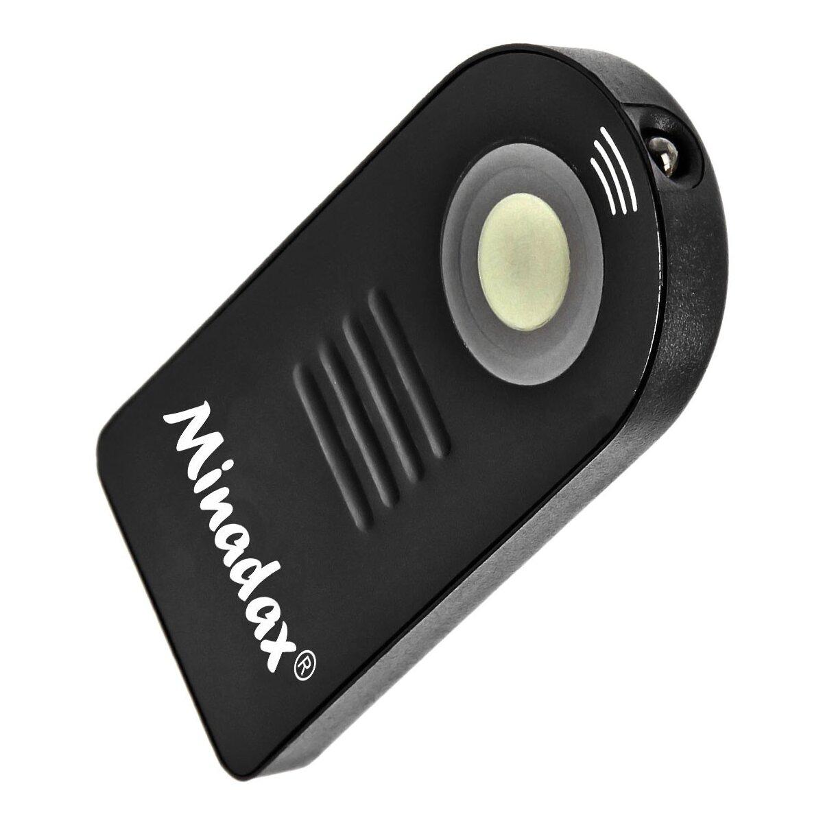 Infrarot Fernauslöser Mini kompatibel mit Canon M, 700D, 650D, 600D, 550D, 500D, 450D, 400D, 350D, 300D, 100D, 70D, 60D, 7D, 6D, 5D Mark III, 5D Mark II, Powershot G6, G5, G3 Ersatz für RC1 und RC5