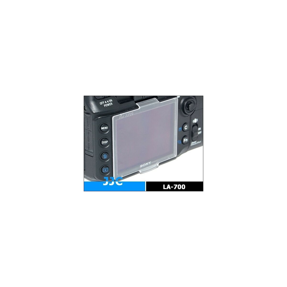 Monitorschutzkappe kompatibel mit Sony A700 Ersatz für PCK-LH1AM