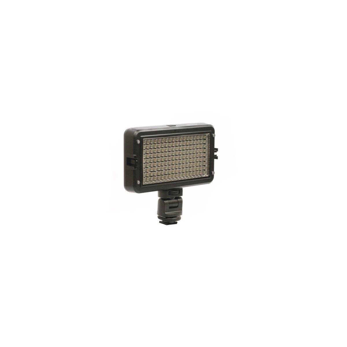 Viltrox Kraftvolle Videoleuchte 162 LED's, Lichtkamera mit Dimmer fuer Helligkeitsregelung & 2 Filtern fuer alle gaengigen Kameras (LL-162VB)