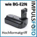 Minadax Batteriegriff kompatibel mit Canon EOS 50D, 40D, 30D Ersatz für BG-E2N, BG-E2