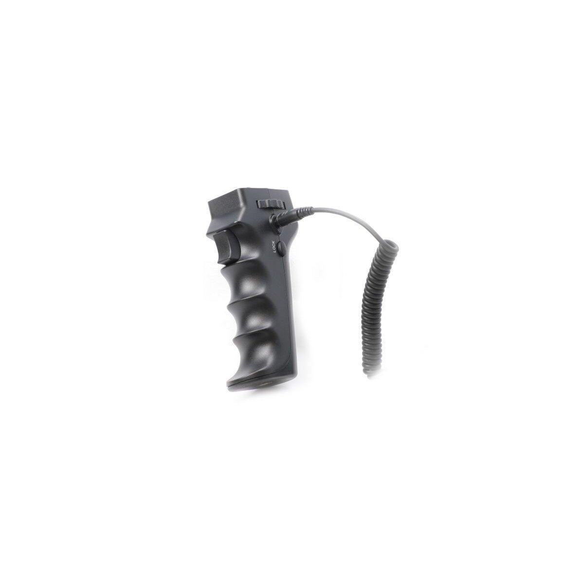 JJC Profi Fernauslöser Einhandaufnahmen Pistolen Handgriff kompatibel mit Canon EOS 1200D, 1100D, 1000D, 700D, 650D, 600D, 550D, 500D, 450D, 400D, 350D, 300D, 100D, 70D, 60D, 300, 50, 33, 30, PowerShot G12, G11, G10, G1X