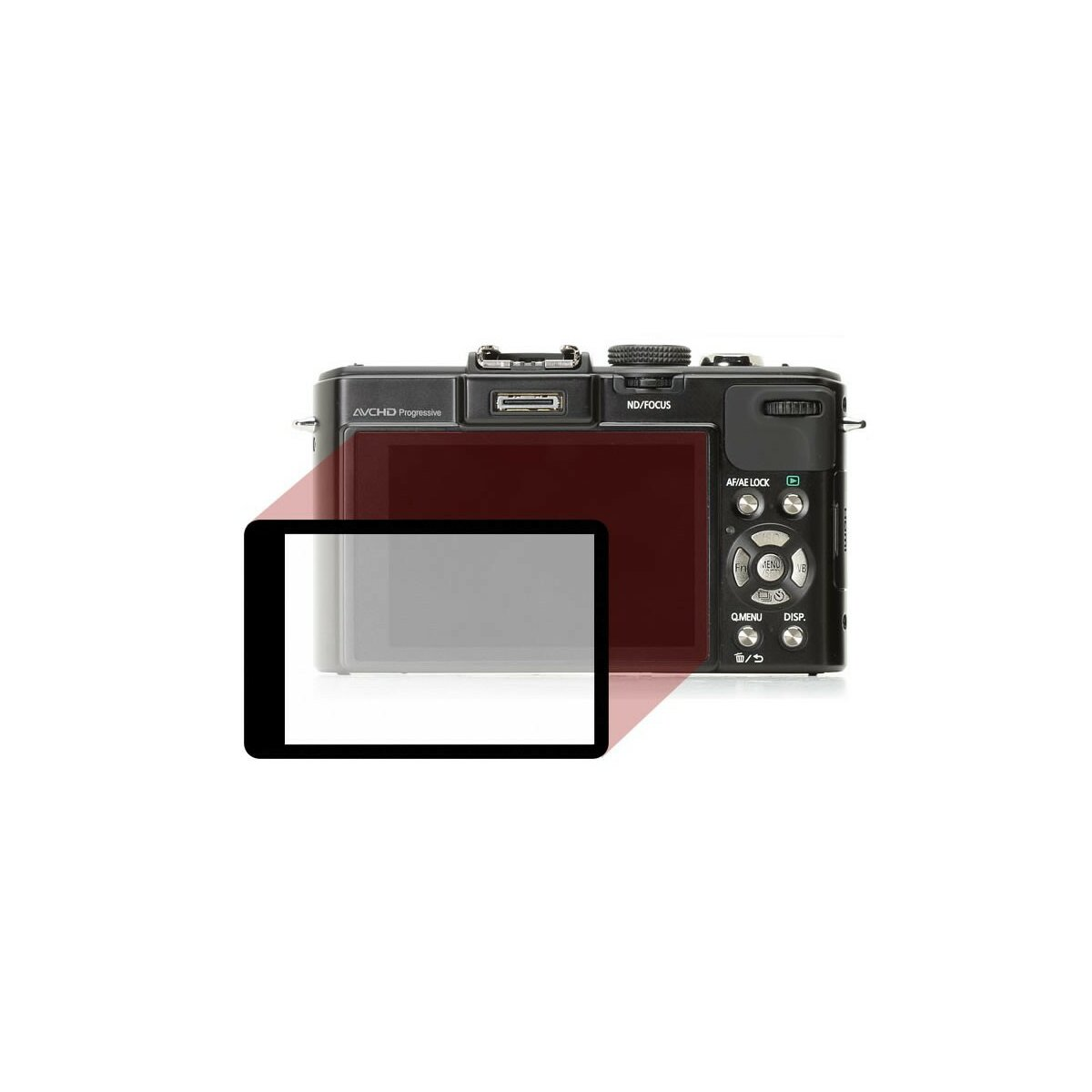 LCD Displayschutz Protector fuer Panasonic DMC-LX7