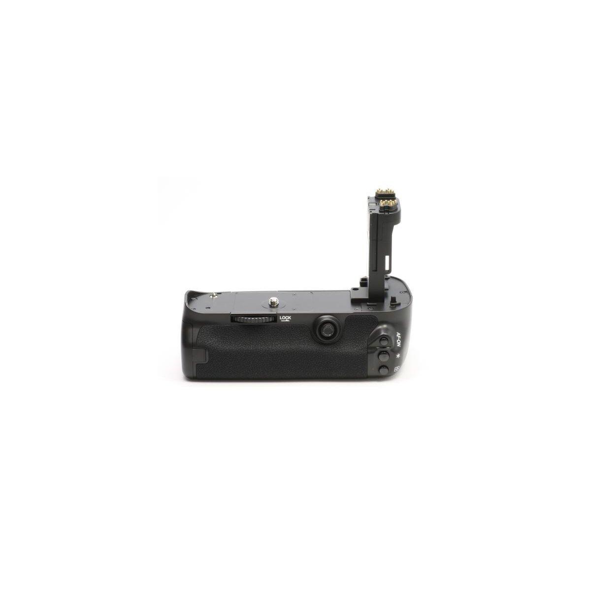 Minadax Profi Batteriegriff fuer Canon EOS 5D Mark III als BG-E11 Ersatz fuer LP-E6 Akkus + 1x Infrarot Fernbedienung!